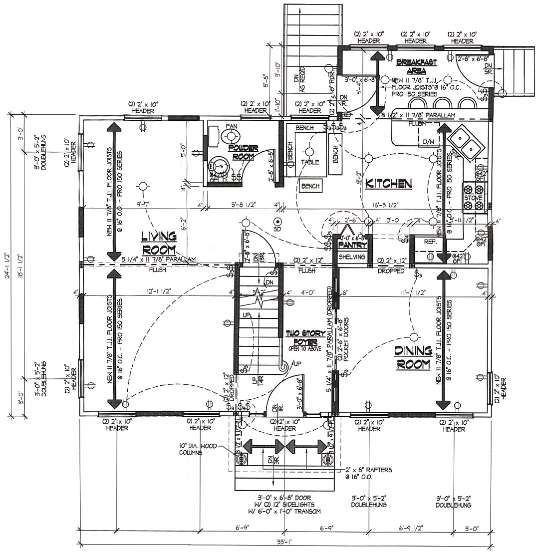 Huge Mansion Blueprints on kitchen construction wiring